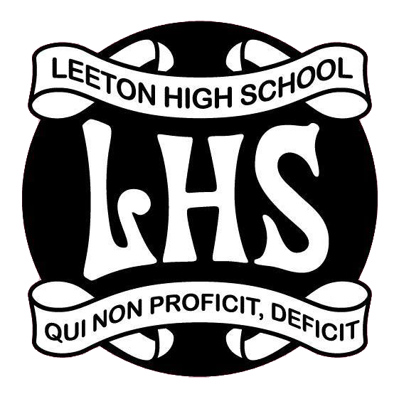 Leeton High School logo